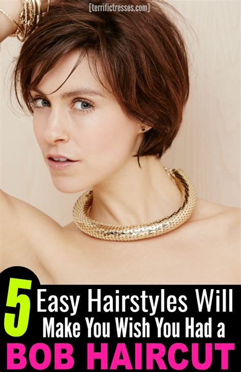can you wear achopped bob hairstyle if you have afat saggy face 5 easy hairstyles will make you wish you had a bob
