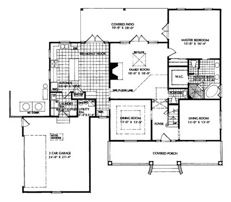 cape cod style floor plans ponte vedra cape cod style home plan 047d 0141 house