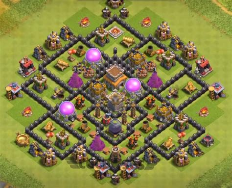 best th8 base top 10 best th8 hybrid base 2018 new anti everything