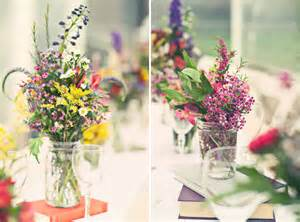 wildflower arrangements colorful wildflowers centerpieces top cheap easy party decor design project holicoffee
