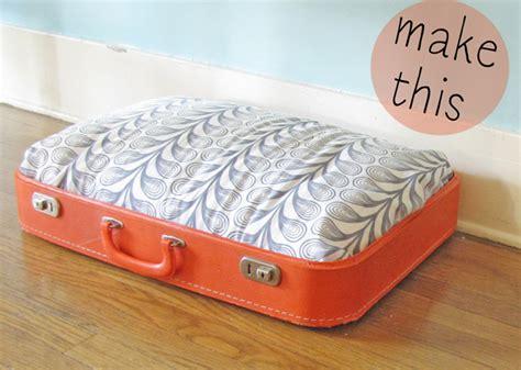 suitcase dog bed vintage suitcase dog bed mox fodder