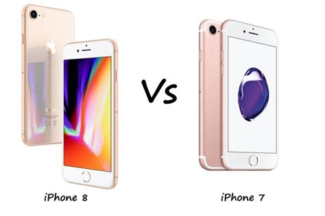iphone 7 vs iphone 8 iphone 8 vs iphone 7 how much better is new than