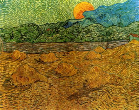 Landscape Paintings Gogh Vincent Gogh On