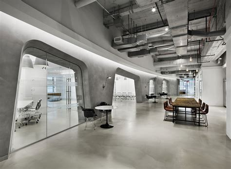 high tech home office look plushemisphere industrial aesthetic office space in empire state building