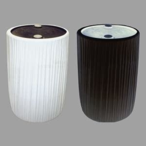 Innovative Pipe And Drape Noonan Grand Rental Kwik Covers Garbage Can Covers