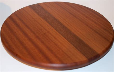 Wooden Lazy Susan Handmade - buy a custom made wood lazy susan decorative mahogany