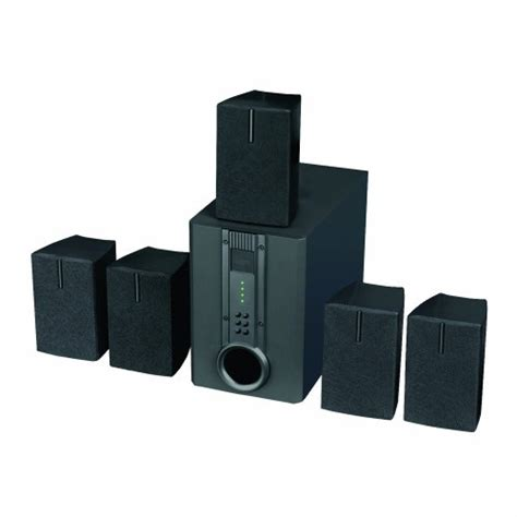 Smallest White Home Theatre System Home Theater Systems Curtis Htib1000 5 1 Surround Sound