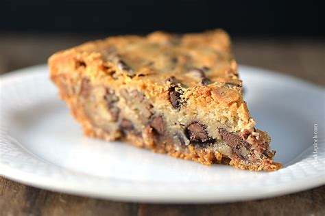 chocolate chip cookie pie for pi day love from the oven kk s chocolate chip cookie pie recipe add a pinch