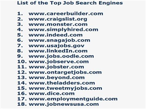 18 job search websites for your career