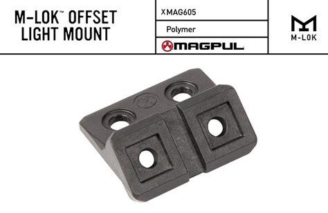 m lok light mount magpul m lok offset light mount