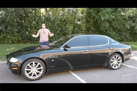 2005 Maserati Quattroporte Price by The 2005 Maserati Quattroporte Is The Easiest Way To Look