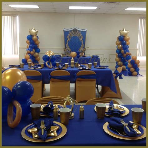 royal prince baby shower decorations baby shower ideas photo 1 of 8 catch my