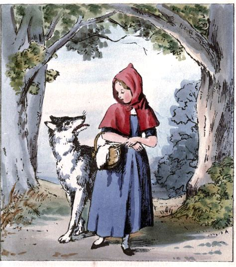 little red little red riding hood wolf illustration www pixshark com images galleries with a bite