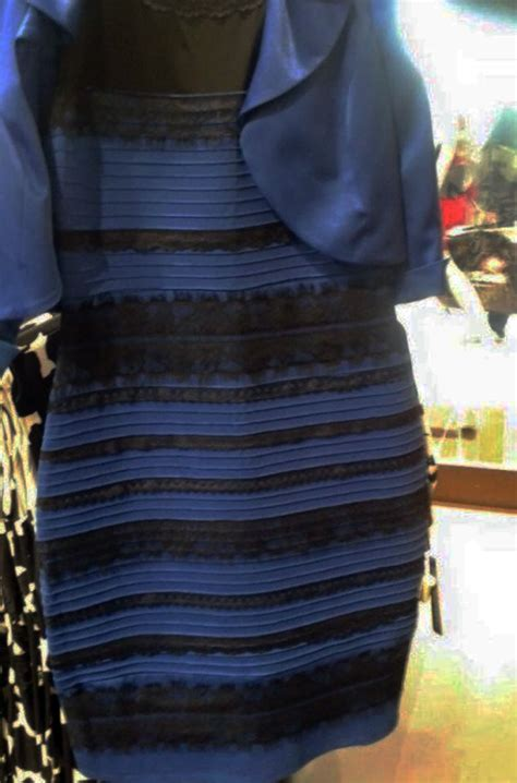 what color is blue black dress brightness and contrast edited