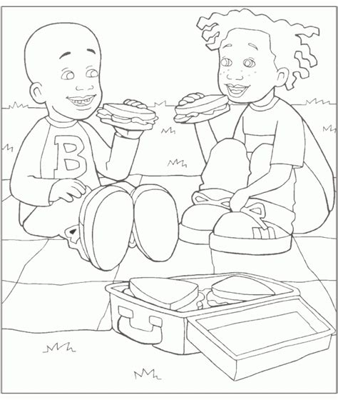 little bill colouring pages page 2 279426 little bill