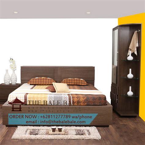 Tempat Tidur Kayu Biasa Minimalis tempat tidur jati minimalis ttj 033 mebel jati minimalis