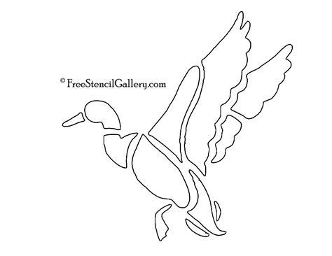 printable duck stencils duck stencil free stencil gallery