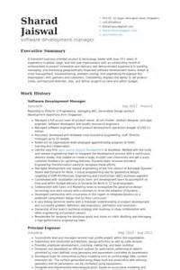 software project manager resume sample software development manager resume resume format senior project manager resume samples