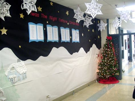 how to make school hall christmas 3d bulletin boards on 3d bulletin boards ribbon week and winter bulletin boards
