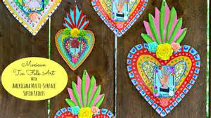 in mexico crafts mexican tin folk craft