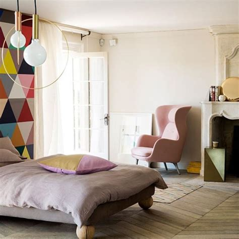 cool bedroom wallpaper 15 captivating bedrooms with geometric wallpaper ideas