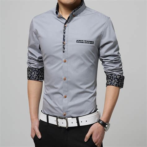 Marcos Black White Kemeja Pria Style Casual Slim Fit the different designs of shirts for acetshirt