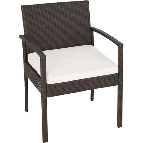 poly rattan garden furniture chairs bench table set