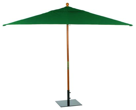 Rectangular Sunbrella Patio Umbrellas 6 X 10 Sunbrella Rectangular Umbrella In Modern Outdoor Umbrellas