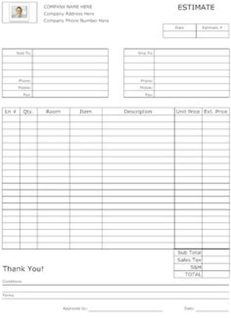 This Business Form Can Be Used By A Garage Or Auto Mechanic To Write Up The Service Required For Motorcycle Repair Estimate Template