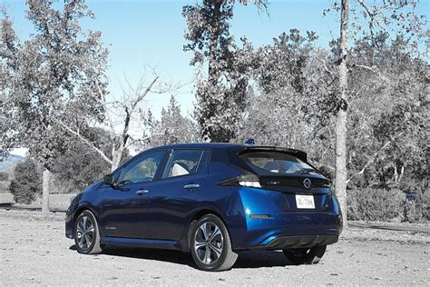 2018 Leaf Review by The 2018 Nissan Leaf Car And Driver Autos Post