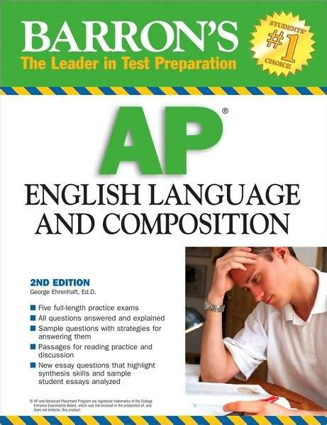 a pattern language barnes and noble ap english language and composition by george ehrenhaft ed