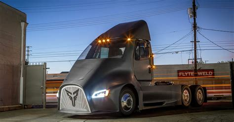 thor movie vehicle thor trucks et one electric semi truck news details