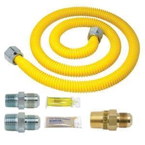 BrassCraft Safety PLUS Gas Installation Kit for Range