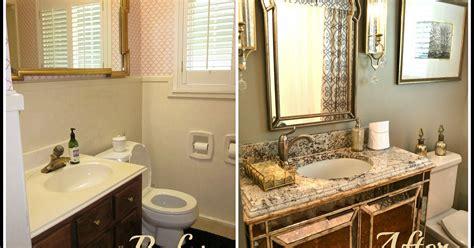 redone bathrooms small bathroom glam redo hometalk