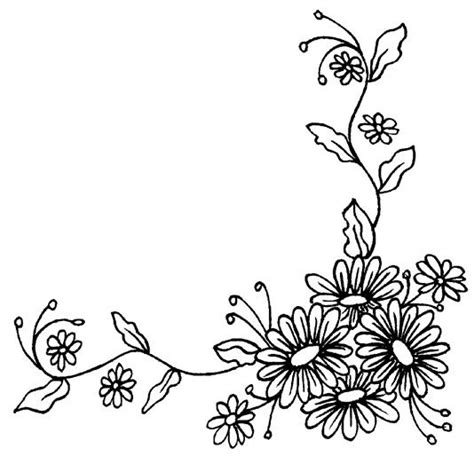 flower border tattoo 30 best images about corner borders on pinterest floral