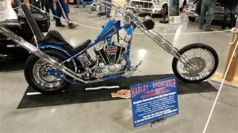 harley sportster chopper ironhead speed  school total restore