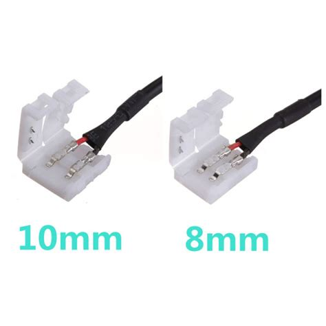 Konektor 2 Pin Adapter Dc 10mm Led Smd 5050 5630 5730 Murah buy 2pin connector cable to dc for led 3528