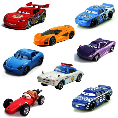 car toy 24 styles disney pixar cars lightning mcqueen mater 1 55