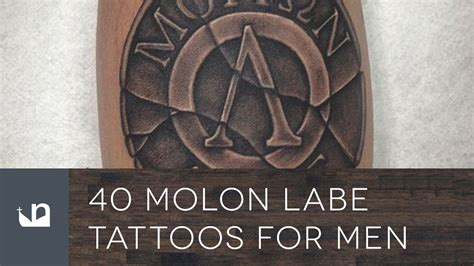molon labe tattoos 40 molon labe tattoos for