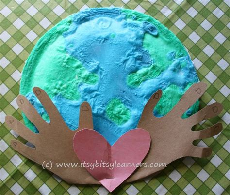 earth day paper crafts earth preschool craft crafts
