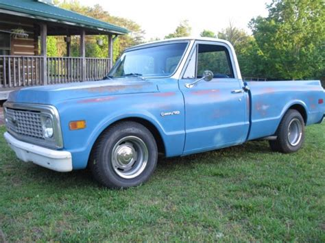 chevy short bed for sale 1971 chevy c10 truck short bed for sale chevrolet c 10