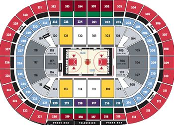 united center seating map chicago bulls vs new york knicks november 4 2016 united center
