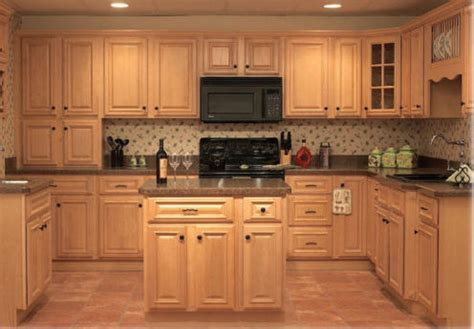 maple kitchen cabinet pictures and ideas