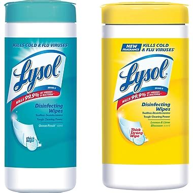 lysol disinfecting wipes staples