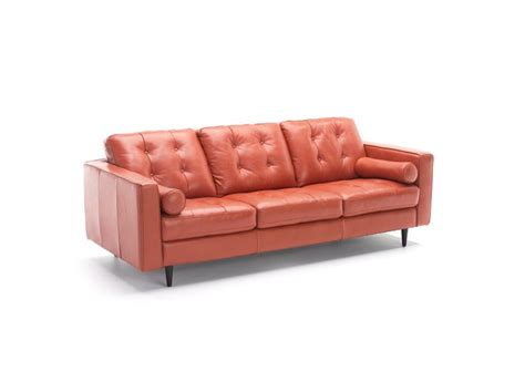 sofa captivating burnt orange leather sofa burnt orange
