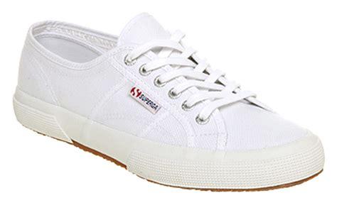 superga white sneakers mens superga 2750 m white trainers shoes ebay