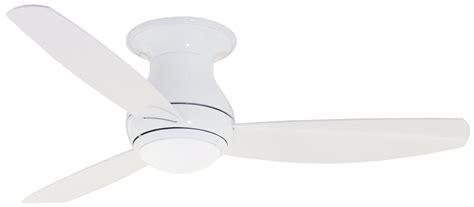 modern flush mount ceiling fan emerson cf152ww curva sky 52 quot modern contemporary flush