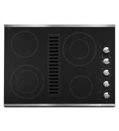 Standalone Kitchen Island kitchenaid 174 30 quot downdraft electric cooktop with 4 elements