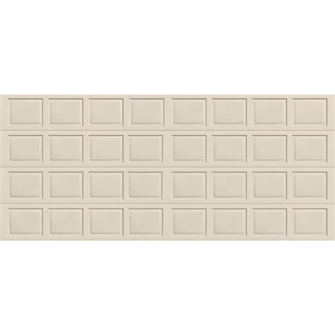 dalton 9600 series 16 ft x 7 ft insulated almond