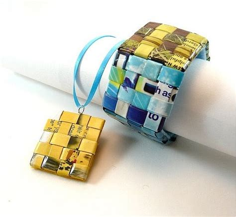 Paper Jewellery Tutorials - all things paper weaving un loomed